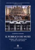 Copertina del libro Il pubblico dei musei